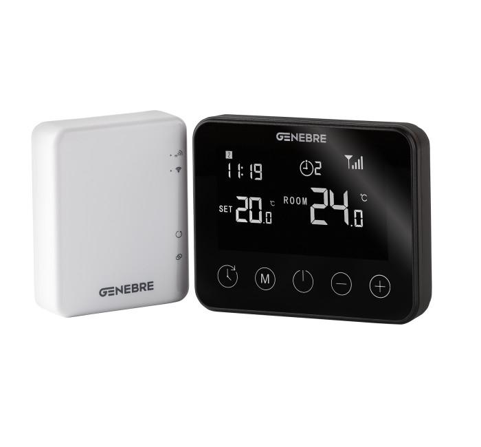 Touch Thermostat + Wifi Gateway