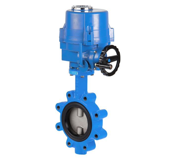 GENEBRE: BUTTERFLY VALVE LUG TYPE WITH ELECTRIC ACTUATOR: BUTTERFLY