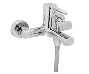 Single lever bath mixer with kit